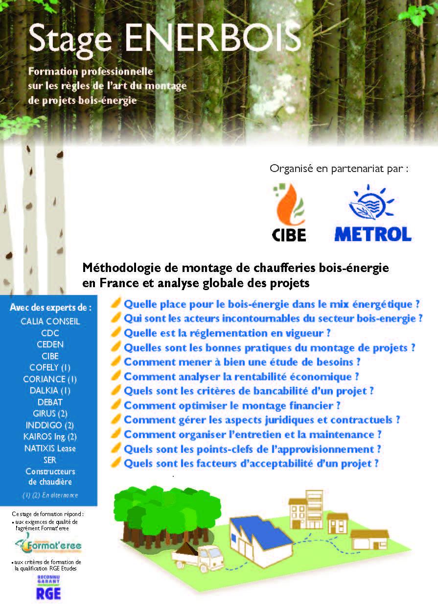 ENERBOIS : Méthodologie de montage de chaufferies bois-énergie en France.